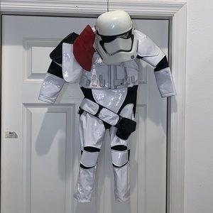 Disney Store Size 3 Storm Trooper Deluxe Costume